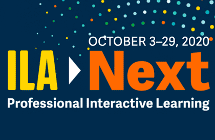 ILA Next - Professional Interactive Learning - October 3-29,2020